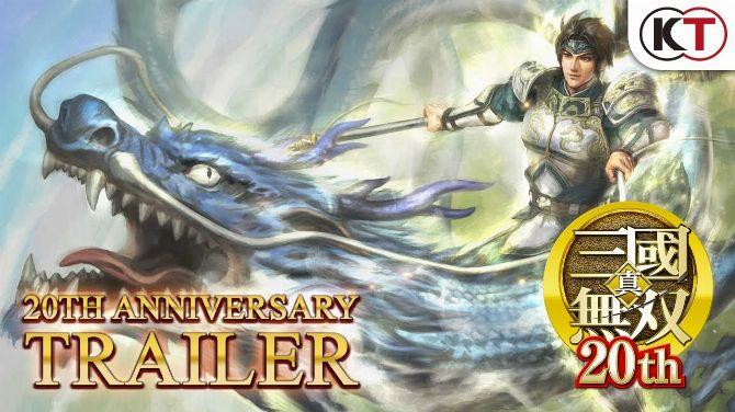 Dynasty Warriors : Koei Tecmo fête les 20 ans de la série avec une vidéo rétrospective