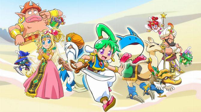Wonder Boy Asha in Monster World annoncé, du gameplay cette semaine (MAJ)