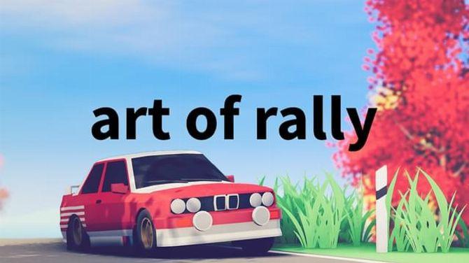"""Art of Rally dévoile de superbes vidéos d'un jeu de course """"minimaliste"""""""