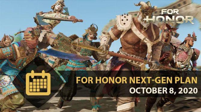 For Honor arrive sur PS5 et Xbox Series en 4K et à 60 FPS avec la saison 4