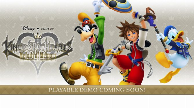 Kingdom Hearts Melody of Memory : Une démo arrive dès demain sur consoles