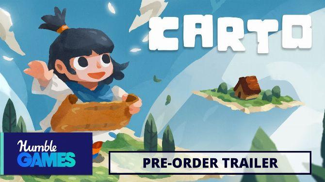 Carto : Le joli puzzle-game d'exploration annonce son arrivée imminente en vidéo