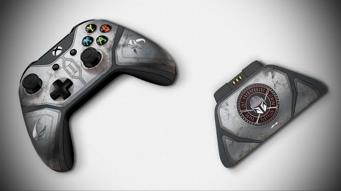 Xbox One : La manette The Mandalorian et sa station de charge se dévoilent
