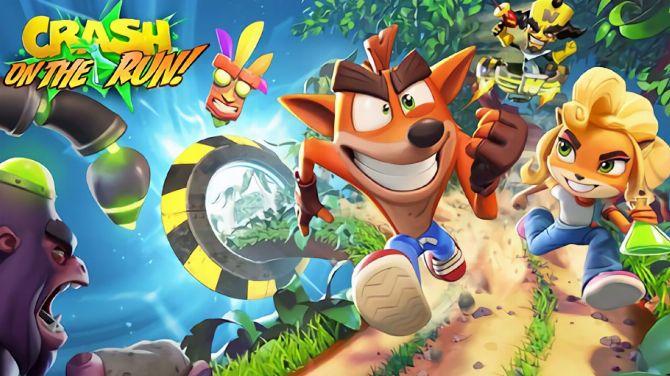 Crash Bandicoot On the Run! : Le runner mobile dévoile du gameplay coloré