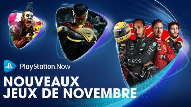 PlayStation Now : Voici les jeux ajoutés en novembre 2020, en pôle position et sur PS5 !