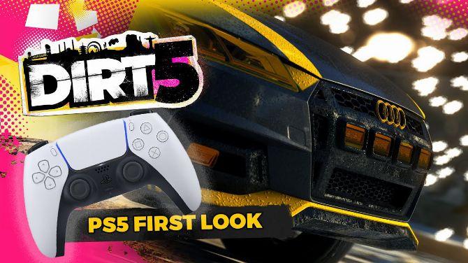 DIRT 5 dévoile du gameplay PS5 et illustre les fonctionnalités de la DualSense
