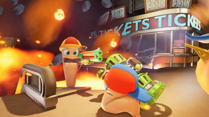 Worms Rumble : La Bêta du Battle Royale pas piqué des vers est lancée
