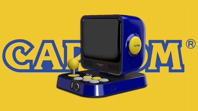 Capcom : Une mini-borne Retro Station apparaît sur Amazon Japon, infos et photos