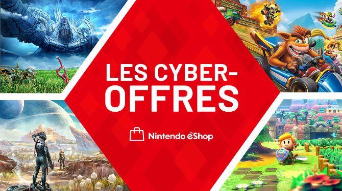 Nintendo Switch : Jusqu'à -75% de remises sur l'eShop avec les Cyber-offres
