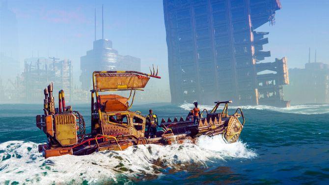 Age of Water se montre en vidéo, un jeu entre Sea of Thieves et Waterworld ?