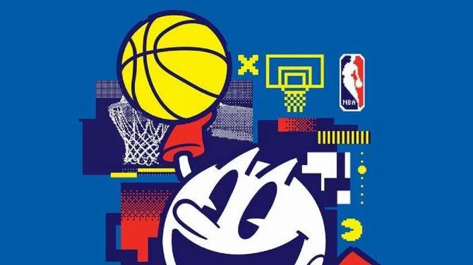 Pac-Man et la NBA nouent un partenariat pour le jeu mobile