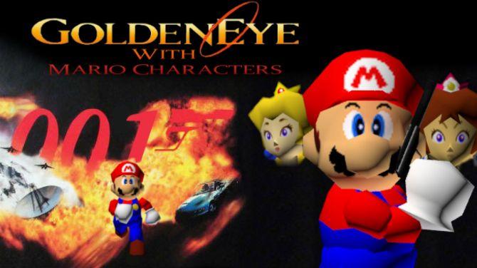 Goldeneye 007 dans Super Mario 64 : Découvrez l'improbable mélange en vidéo