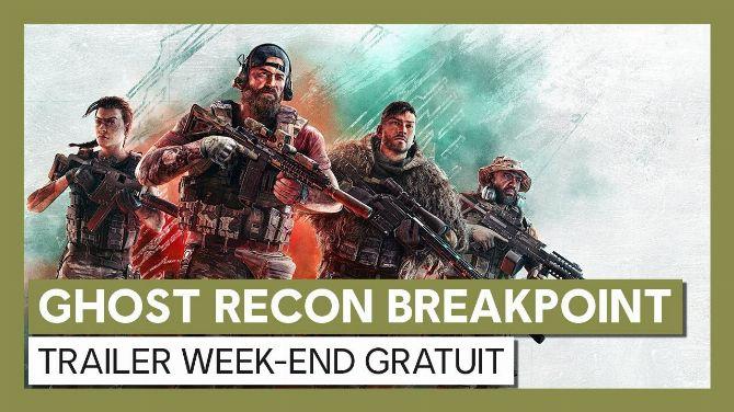 Ghost Recon Breakpoint est gratuit durant tout le weekend, et s'affiche à prix réduit