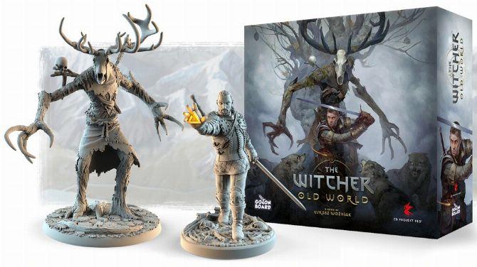 The Witcher : Un jeu de plateau s'annonce avec un Kickstarter