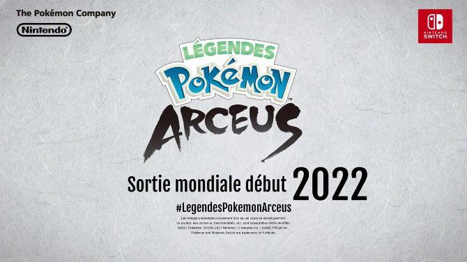 Légendes Pokémon Arceus : Un monde ouvert intriguant annoncé et dévoilé en vidéo