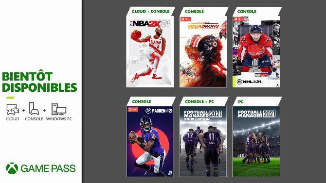 Xbox Game Pass : Les premiers jeux de mars 2021 s'annoncent, et va y'avoir du sport