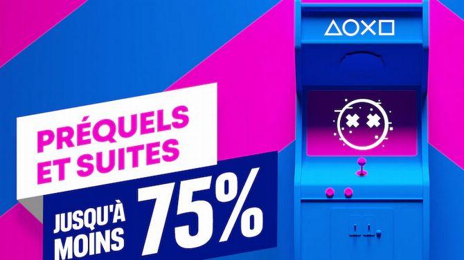 PlayStation Store : Prix réduits sur les prequels et suites, jusqu'à -80%