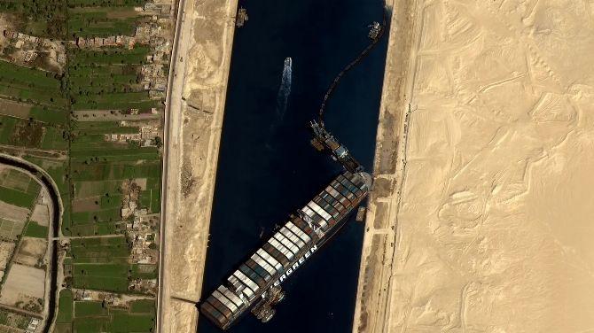 Flight Simulator : Le porte-conteneurs Ever Given du Canal de Suez ajouté via un mod