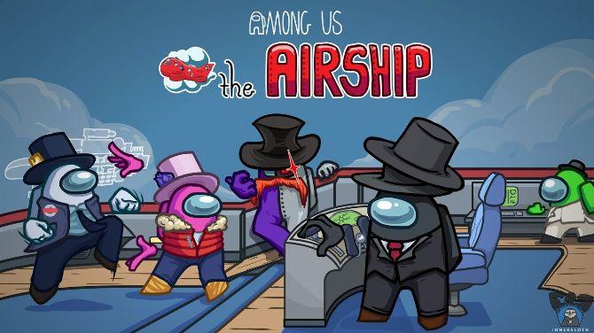 Among Us : La carte The Airship est disponible