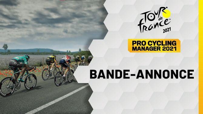 Tour de France 2021 et Pro Cycling Manager 2021 arrivent cet été, date de sortie et première vidéo