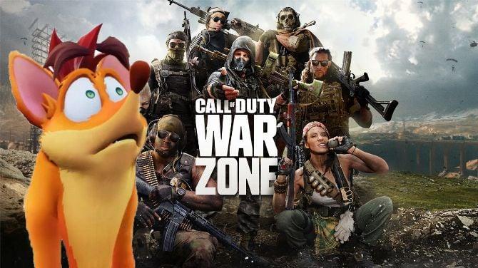 Les développeurs de Crash Bandicoot 4 désormais occupés sur Call of Duty Warzone