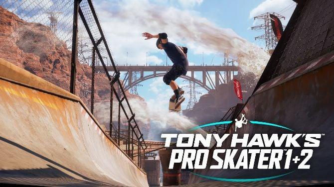 Tony Hawk's Pro Skater 1+2 sur Nintendo Switch en juin