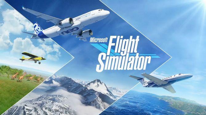 Microsoft Flight Simulator prend deux fois moins de place sur le disque dur