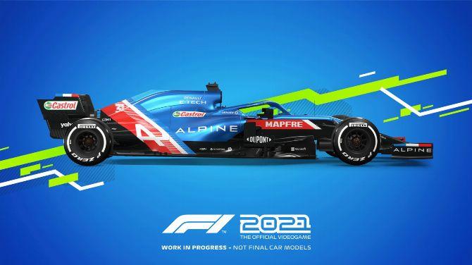 F1 2021 : Premières images du prochain jeu de course de Codemasters
