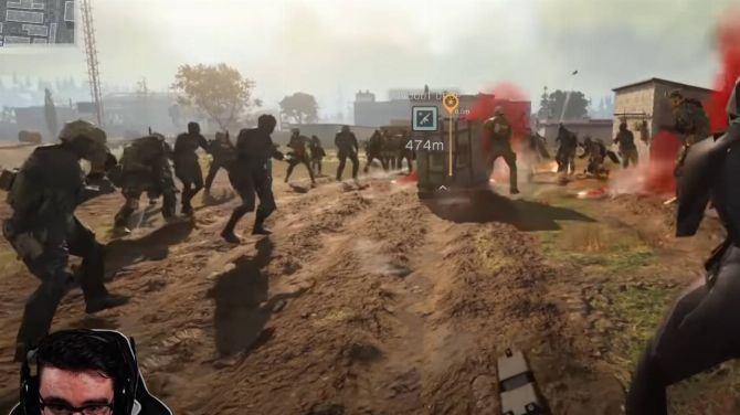 """L'image du jour : 100 joueurs ont réussi à """"casser"""" Warzone"""