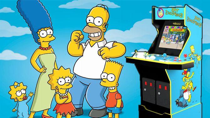 Les Simpson : La borne d'arcade du beat'em all de Konami bientôt en vente, infos et images