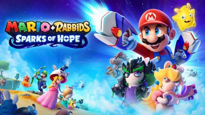 Mario + The Lapins Crétins Sparks of Hope fuite... par Nintendo