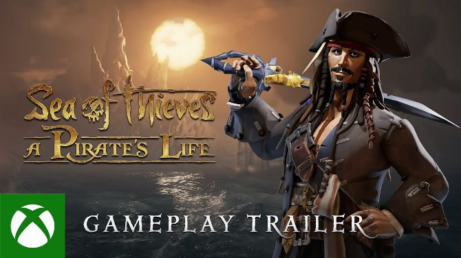 Xbox Games Showcase Extended : Du gameplay pour Sea of Thieves A Pirate's Life