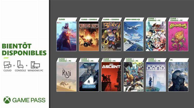 Xbox Game Pass : Battlefield V et Flight Simulator arrivent avec la seconde livraison de juillet