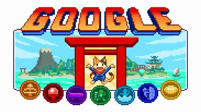 Jeux Olympiques 2020 : Google Doogle propose un J-RPG sportif en Pixel Art