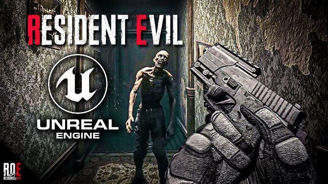L'image du jour : Le remake du 1er Resident Evil en vue FPS