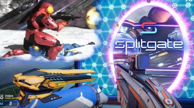 L'image du jour : Un mode de Splitgate (jeu gratuit) que l'on voudrait voir dans Halo Infinite