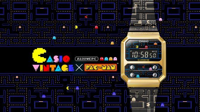 Pac-Man : Casio lance une nouvelle montre numérique au look vintage
