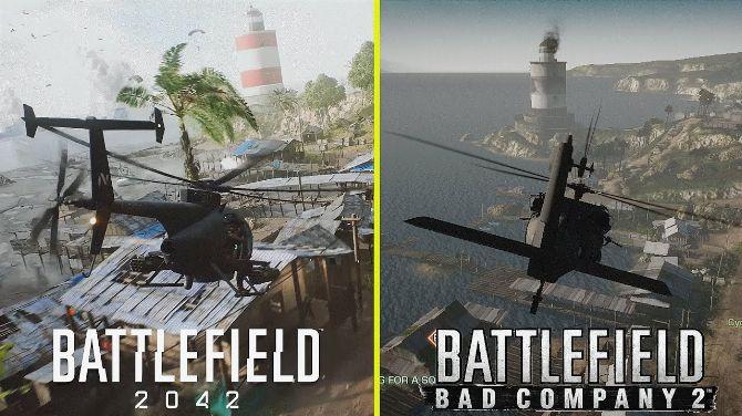 L'image du jour : Les comparatifs graphique des maps remakées sur Battlefied 2042