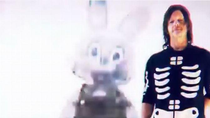 Silent Hill : Norman Reedus dans une étrange vidéo avec une mascotte de la série