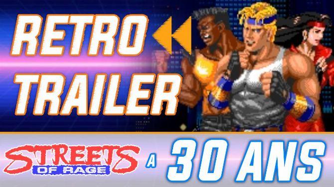 Rétro Trailer : Streets of Rage a 30 ans ! Pub de lancement + toutes les musiques du jeu