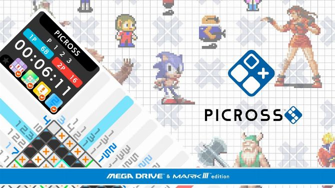 Picross S : L'épisode 100% SEGA trouve sa date de sortie en vidéo