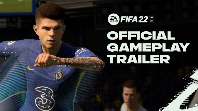FIFA 22 : La bande-annonce de gameplay se découvre