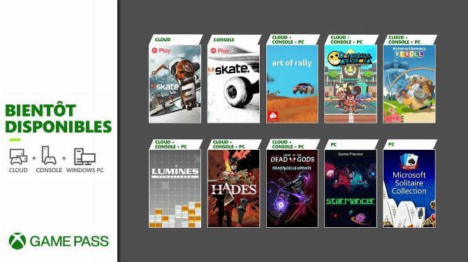 Xbox Game Pass : La livraison d'août 2021 déboule en vrac, Hades au programme...