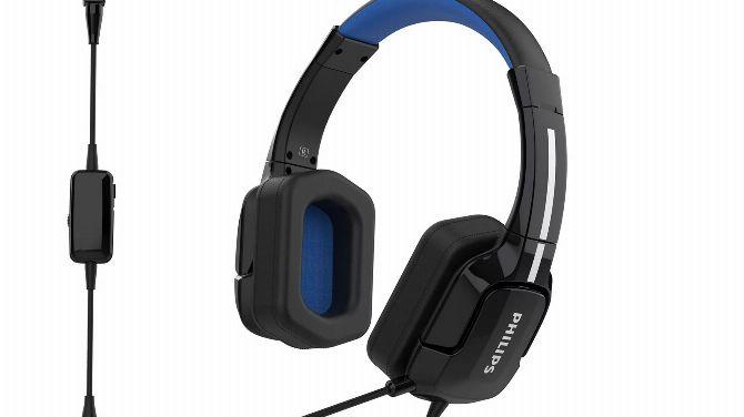 Philips lance deux micro-casque pour le jeu vidéo à petit prix