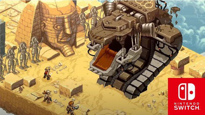 Metal Slug Tactics dévoile du gameplay, une version Switch annoncée pour 2022