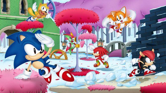 Sonic Mania fête les 4 ans de sa sortie avec un artwork inédit