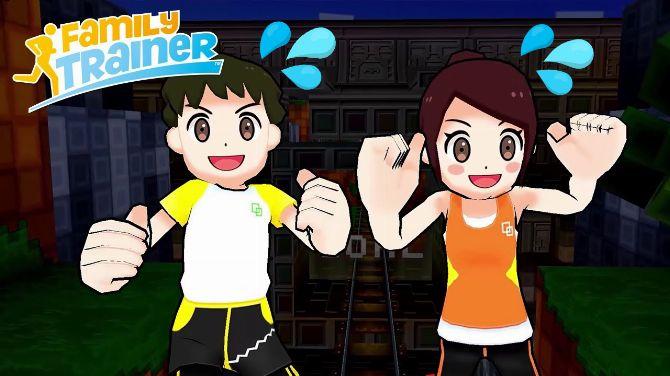 Family Trainer : Un nouveau jeu de remise en forme arrive bientôt sur Switch, un an après le Japon