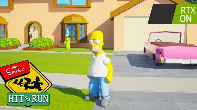 Il crée un remake de Simpsons Hit & Run avec Ray Tracing sous Unreal Engine 5, la vidéo
