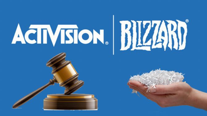 Affaire Activision Blizzard : Poursuivi pour destruction de documents, le groupe s'explique
