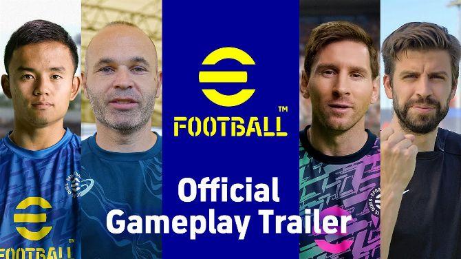 Gamescom 2021 : eFootball dégaine trailer de gameplay et infos